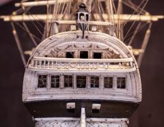Napoleonic Prisoner of War Model of a 2nd Rate Ship of 72 Guns - 1508722