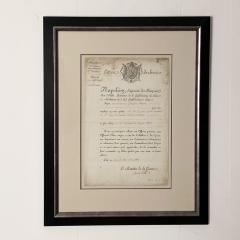 Napoleonic Wars Draft Notice France Circa 1813 - 1637760