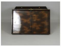 Nashiji Lacquer Armor Trunk with Bamboo Design - 1905816