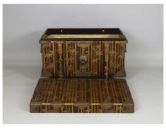 Nashiji Lacquer Armor Trunk with Bamboo Design - 1905823