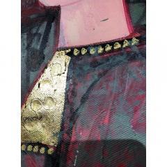 Nasser Ovissi Nasser Ovissi Iranian Born 1934 Queen Atosa Gold Oil on Canvas Painting - 1130467
