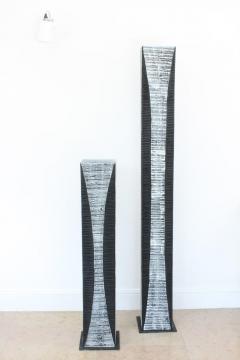 Natacha Heitz Contemporary Wood Sculpture Gratte Ciel 160 - 1681637