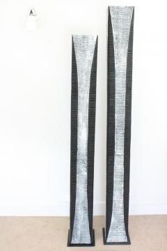 Natacha Heitz Contemporary Wood Sculpture Gratte Ciel 180 - 1681609