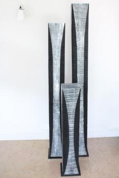 Natacha Heitz Contemporary Wood Sculpture Gratte Ciel 180 - 1681615