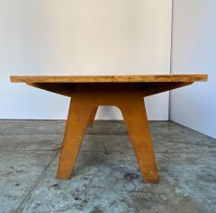 Nathan Lerner Architectonic Cut Plywood Mid Century Cocktail Table - 1501467