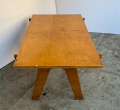 Nathan Lerner Architectonic Cut Plywood Mid Century Cocktail Table - 1501472