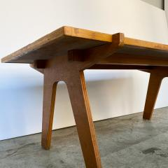 Nathan Lerner Architectonic Cut Plywood Mid Century Cocktail Table - 1501473
