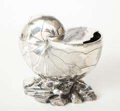 Nautilus in silver plated - 1218136