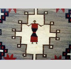 Navajo Dine pictorial rug with Spiderwoman - 1319218