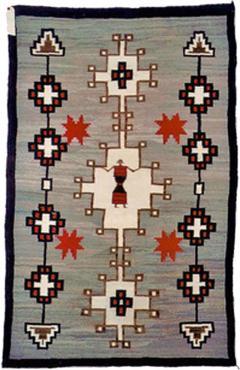 Navajo Dine pictorial rug with Spiderwoman - 1320863