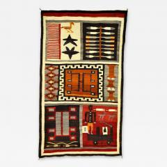 Navajo Pictorial Sampler Rug - 160757