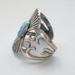 Navajo sandcast bracelet - 1319232