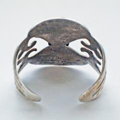 Navajo sandcast bracelet - 1319234