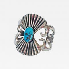 Navajo sandcast bracelet - 1320859