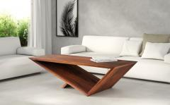Neal Aronowitz Time Space Portal Table Wood Coffee Table a Collection by Neal Aronowitz - 2087204