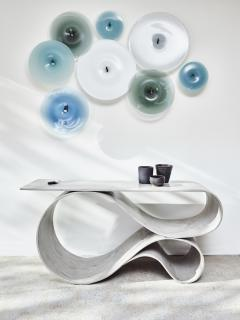 Neal Aronowitz Whorl Console from the Concrete Canvas Collection by Neal Aronowitz - 2087199