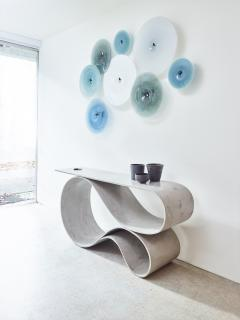Neal Aronowitz Whorl Console from the Concrete Canvas Collection by Neal Aronowitz - 2087215