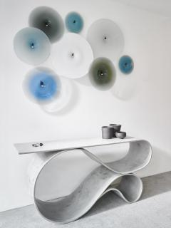 Neal Aronowitz Whorl Console from the Concrete Canvas Collection by Neal Aronowitz - 2087218