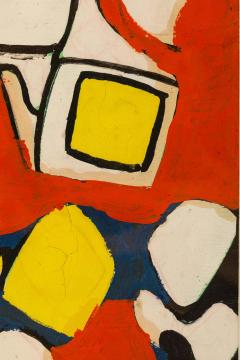 Nell Blaine Nell Blaine Abstract Gouache on Paper USA 1940s - 1631305