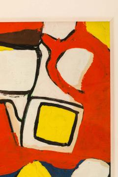 Nell Blaine Nell Blaine Abstract Gouache on Paper USA 1940s - 1631307