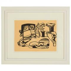 Nell Blair Walden Blaine Nell Blaine Untitled India Ink on Paper USA 1948 - 652574