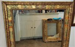 Nena Claiborne Art Deco Era Nena Claiborne Hand Painted Mirror - 1722994