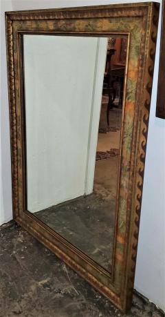Nena Claiborne Art Deco Era Nena Claiborne Hand Painted Mirror - 1722996