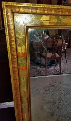Nena Claiborne Art Deco Era Nena Claiborne Hand Painted Mirror - 1722997