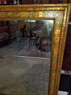 Nena Claiborne Art Deco Era Nena Claiborne Hand Painted Mirror - 1722998