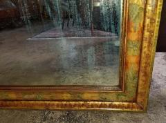 Nena Claiborne Art Deco Era Nena Claiborne Hand Painted Mirror - 1722999