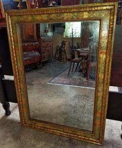 Nena Claiborne Art Deco Era Nena Claiborne Hand Painted Mirror - 1723028