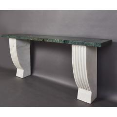 Neo Classical Italian Marble Console 1930s - 1968997
