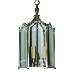 Neoclassic Style Silver Plated Lantern - 1173319