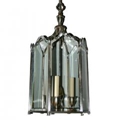 Neoclassic Style Silver Plated Lantern - 1173322