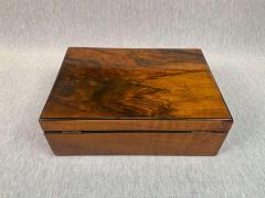 Neoclassical Biedermeier Casket Box Walnut Veneer South Germany circa 1830 - 1808486