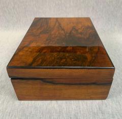 Neoclassical Biedermeier Casket Box Walnut Veneer South Germany circa 1830 - 1808492