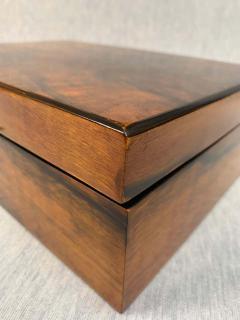 Neoclassical Biedermeier Casket Box Walnut Veneer South Germany circa 1830 - 1808494