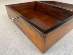 Neoclassical Biedermeier Casket Box Walnut Veneer South Germany circa 1830 - 1808498