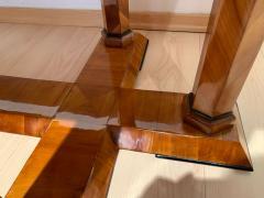 Neoclassical Biedermeier Desk Cherry Veneer Six Columns Austria circa 1830 - 2129635