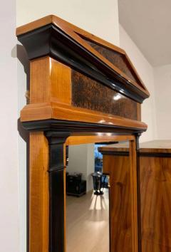 Neoclassical Biedermeier Mirror Cherry Walnut Roots South Germany circa 1820 - 1808515