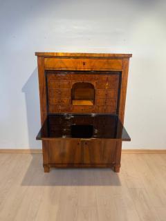 Neoclassical Biedermeier Secr taire Walnut Yew Ebonized Germany circa 1830 - 1907604