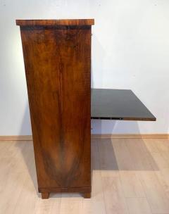 Neoclassical Biedermeier Secr taire Walnut Yew Ebonized Germany circa 1830 - 1907605