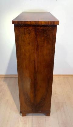 Neoclassical Biedermeier Secr taire Walnut Yew Ebonized Germany circa 1830 - 1907607