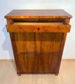 Neoclassical Biedermeier Secr taire Walnut Yew Ebonized Germany circa 1830 - 1907613