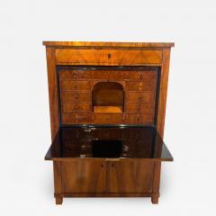 Neoclassical Biedermeier Secr taire Walnut Yew Ebonized Germany circa 1830 - 1937371