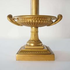 Neoclassical Bronze Bouillotte Lamp - 887192