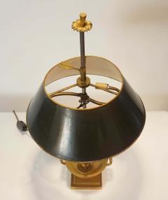 Neoclassical Bronze Bouillotte Lamp - 887197
