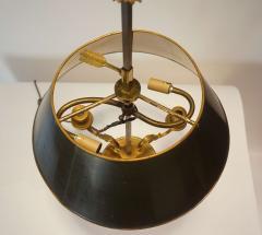 Neoclassical Bronze Bouillotte Lamp - 887198