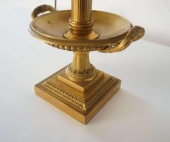 Neoclassical Bronze Bouillotte Lamp - 887201