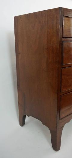 Neoclassical English Regency Inlaid Mahogany Chest of Drawers - 1578299